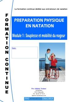 Preìparation physique en Natation module 1 (glissé(e)s)