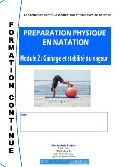 Preìparation physique en Natation Module 2