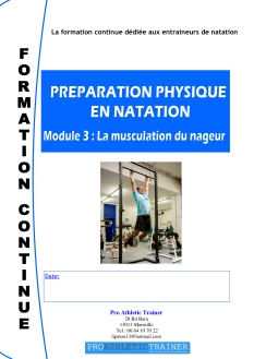 Preìparation physique en Natation module 3