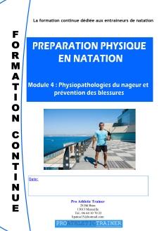 Preìparation physique en Natation Module 4